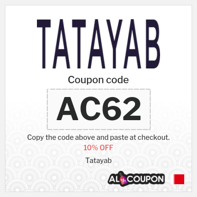 10% Tatayab Coupon Code 2021 | Latest Sitewide Offers