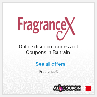 Advantages for shopping at FragranceX online store