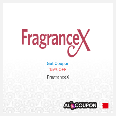 FragranceX coupon code Bahrain | All perfumes sitewide