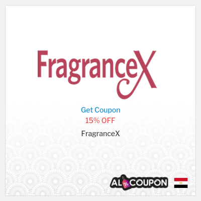 FragranceX coupon code Egypt | All perfumes sitewide