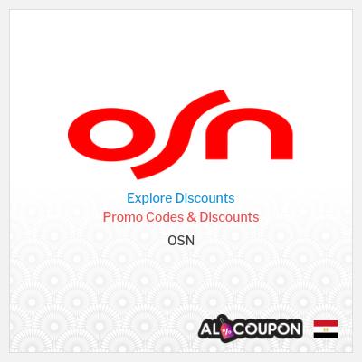 OSN Egypt | 100% Verified OSN promo codes & discounts