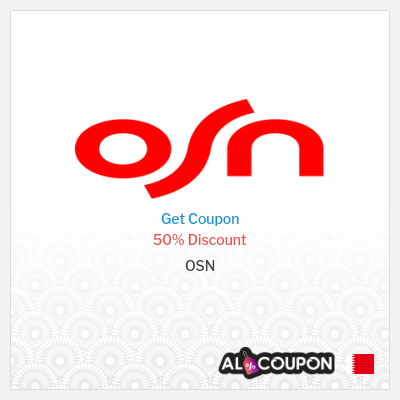 OSN coupon code 2021 | 50% off annual OSN subscriptions