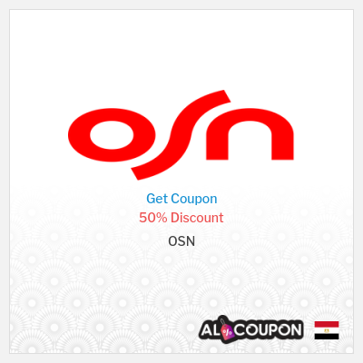OSN coupon code 2021   50% off annual OSN subscriptions