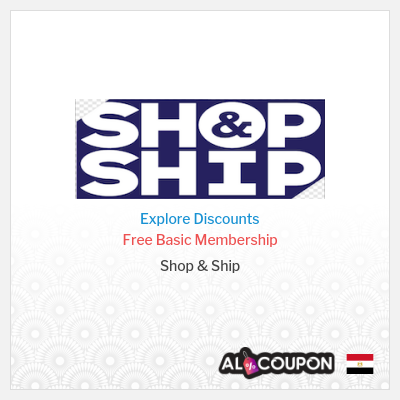 Shop & Ship coupon code 2021 | S&S promo codes & offers