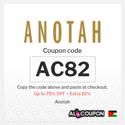 Anotah online store | Anotah coupon codes & discounts 2021