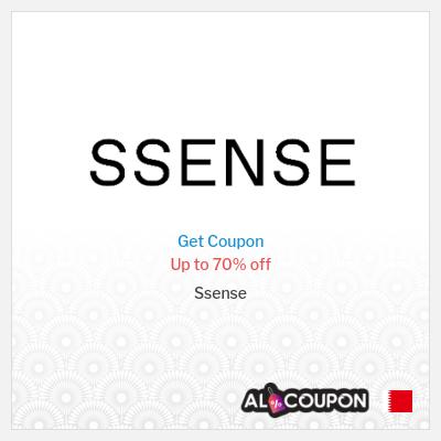 Ssense Bahrain | Ssense promo codes, coupons & vouchers