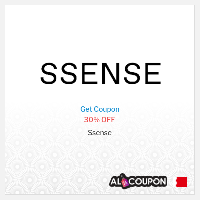 Ssense discount code Bahrain   30% off all items sitewide