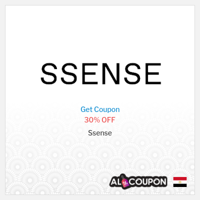 Ssense discount code Egypt | 30% off all items sitewide
