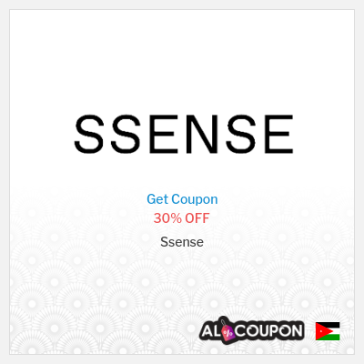 Ssense discount code Jordan | 30% off all items sitewide