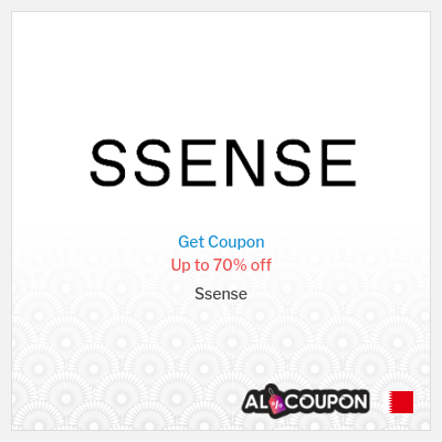 Ssense coupon code Bahrain | Up to 70% off selected items