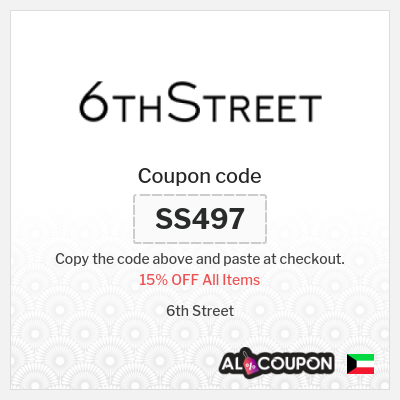 6th street coupon codes Kuwait