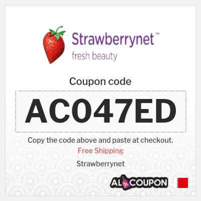 Strawberrynet coupon code + Free Shipping to Bahrain