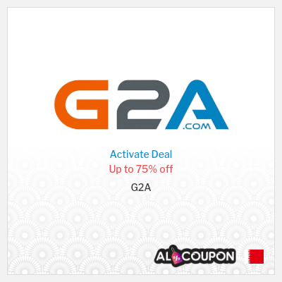 G2A coupon code Bahrain | Weekly discounts up to 75%