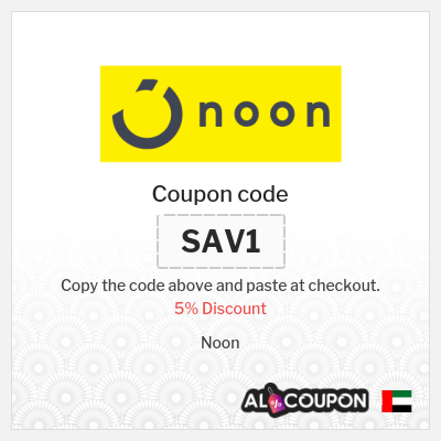 5% Noon Coupon Code | Valid for recurrent users