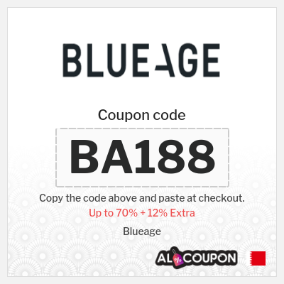 Blueage Offers up to 70% 2021 + 12% Blueage discount codes