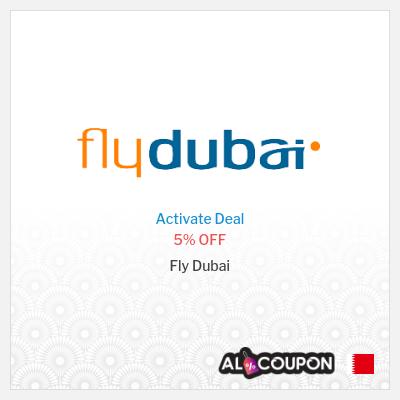 Flydubai promo code 2021 | 5% OFF on all flights
