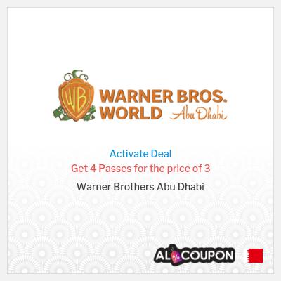 Warner Brothers Abu Dhabi Tickets Offers & Deals | September 2021
