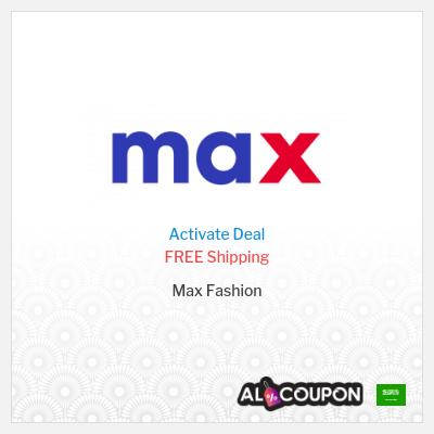 Max Saudi Arabia Free Shipping