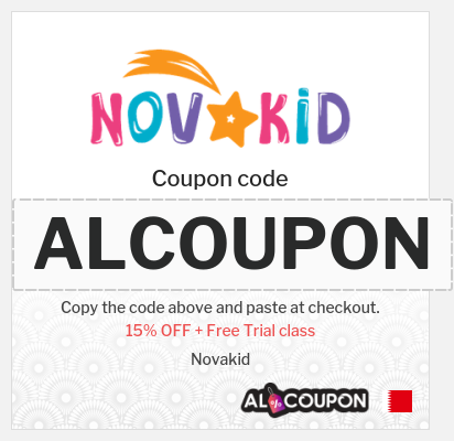 Novakid offers Bahrain   Get a free trial class now