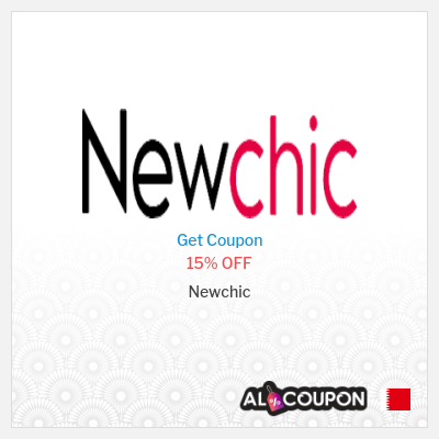 15% Newchic promo code 2021 | On first order when subscribing to the mailing list