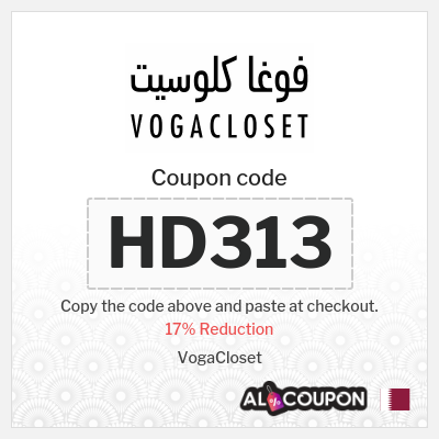 Vogacloset Coupon Code 2021   17% Discount on ALL Products