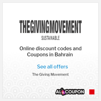 Perks of Online Shopping at The Giving Movement Bahrain