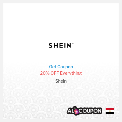 Shein Coupon Code 20% OFF Sitewide 2020