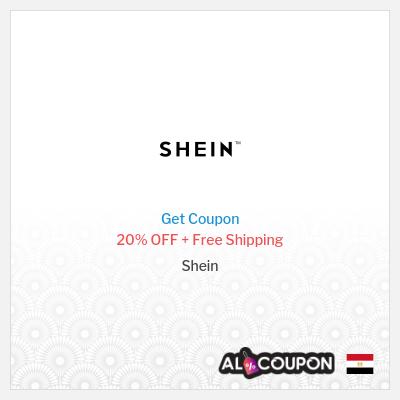 Shein Code 2021 | 20% OFF + Free Shipping
