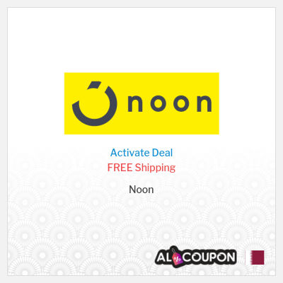 Noon Qatar store's Coupons and Promo Codes