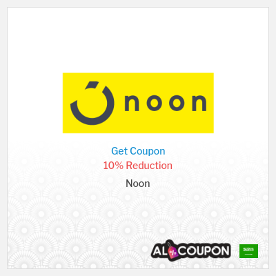 Noon Saudi Arabia store's Coupons and Promo Codes