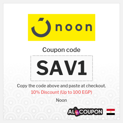 Noon Egypt store's Coupons and Promo Codes