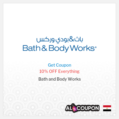 Bath and Body works coupon codes Egypt, discounts & sales