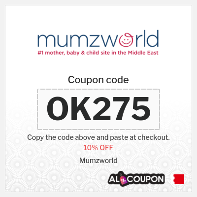 Mumzworld Coupon Code Bahrain | 10% OFF EVERYTHING
