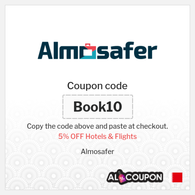 AlMosafer promo code 2021 | 5% OFF Hotels & Flights