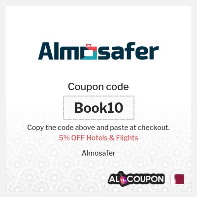 AlMosafer promo code 2020 | 5% OFF Hotels & Flights