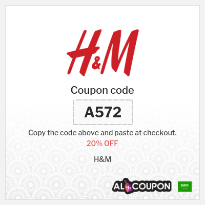 H&M discount code | Get 20% off full priced products