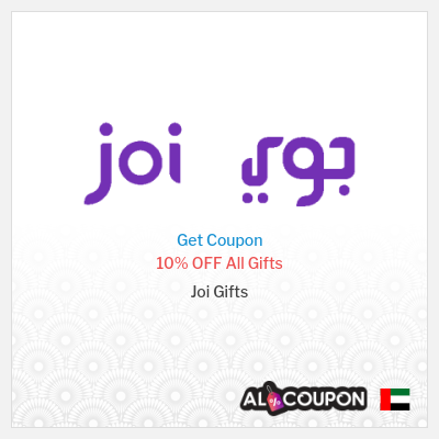 Joi Gifts UAE  - Joi Promo Codes & Coupons
