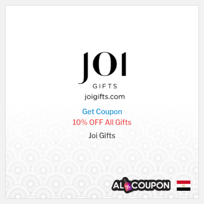 Joi Gifts Egypt  - Joi Promo Codes & Coupons
