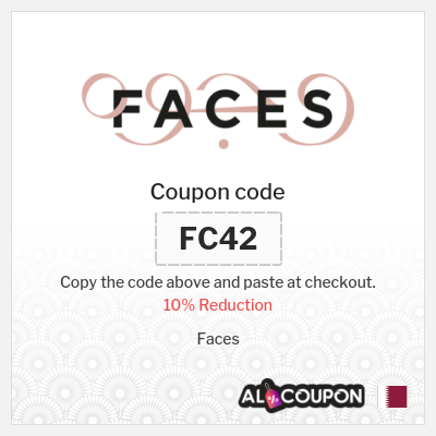 Faces coupon code - 10% off on all full priced products