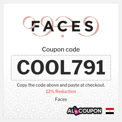 Faces coupon code - 12% off on all products sitewide