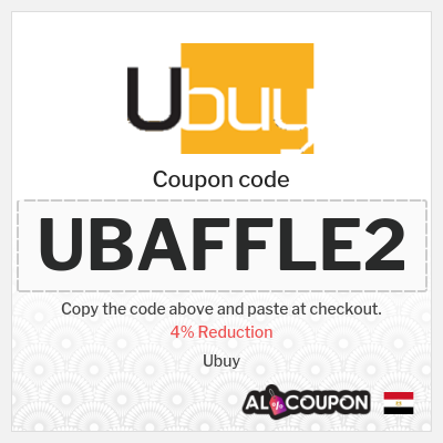 Ubuy Discount Code Egypt | 4% OFF Everything