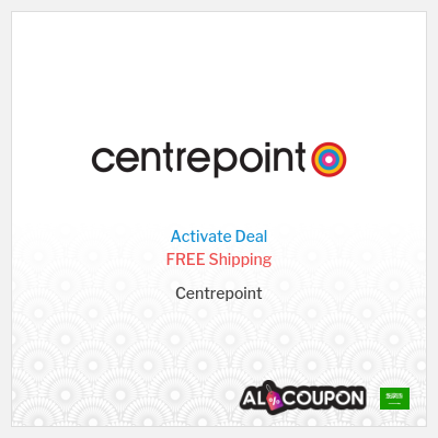 Free Shipping Special Offer from Centrepoint