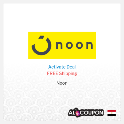 Noon Offers | Free Shipping to Egypt