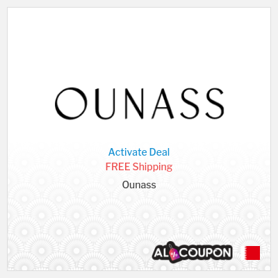Activate the Ounass Free Shipping Offer to Bahrain