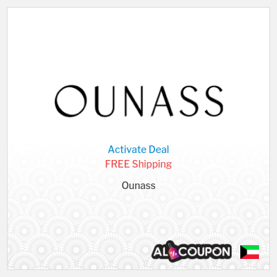 Activate the Ounass Free Shipping Offer to Kuwait