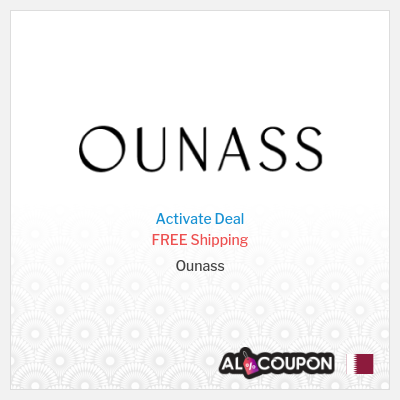 Activate the Ounass Free Shipping Offer to Qatar