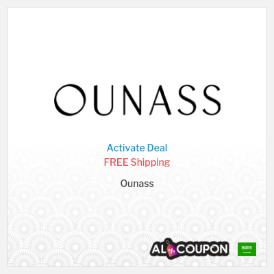 Activate the Ounass Free Shipping Offer to Saudi Arabia