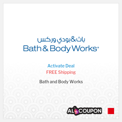 Free Shipping Offer from Bath & Body Works Bahrain