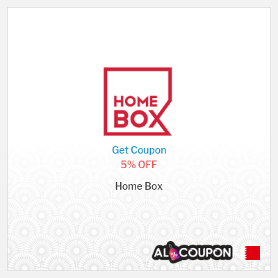 Homebox Online Shopping Bahrain | 5% off promo code