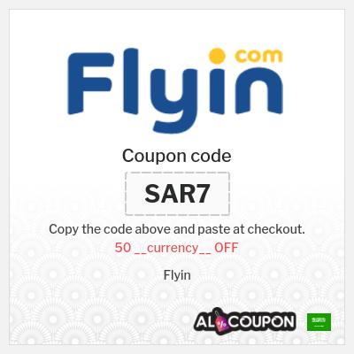 Flyin Coupon | 50 Saudi riyal OFF flights, hotels & holidays